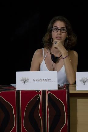 Guiliana Kauark, mediadora, uma das organizadoras do Seminário